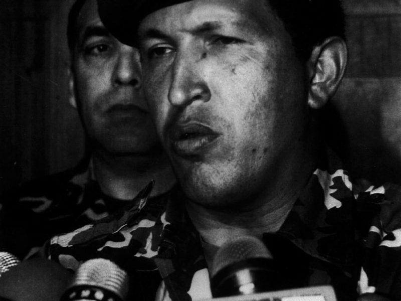 Hugo Chávez declarando 4f