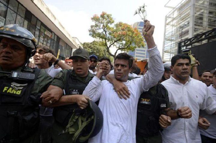 El viacrucis de Leopoldo López