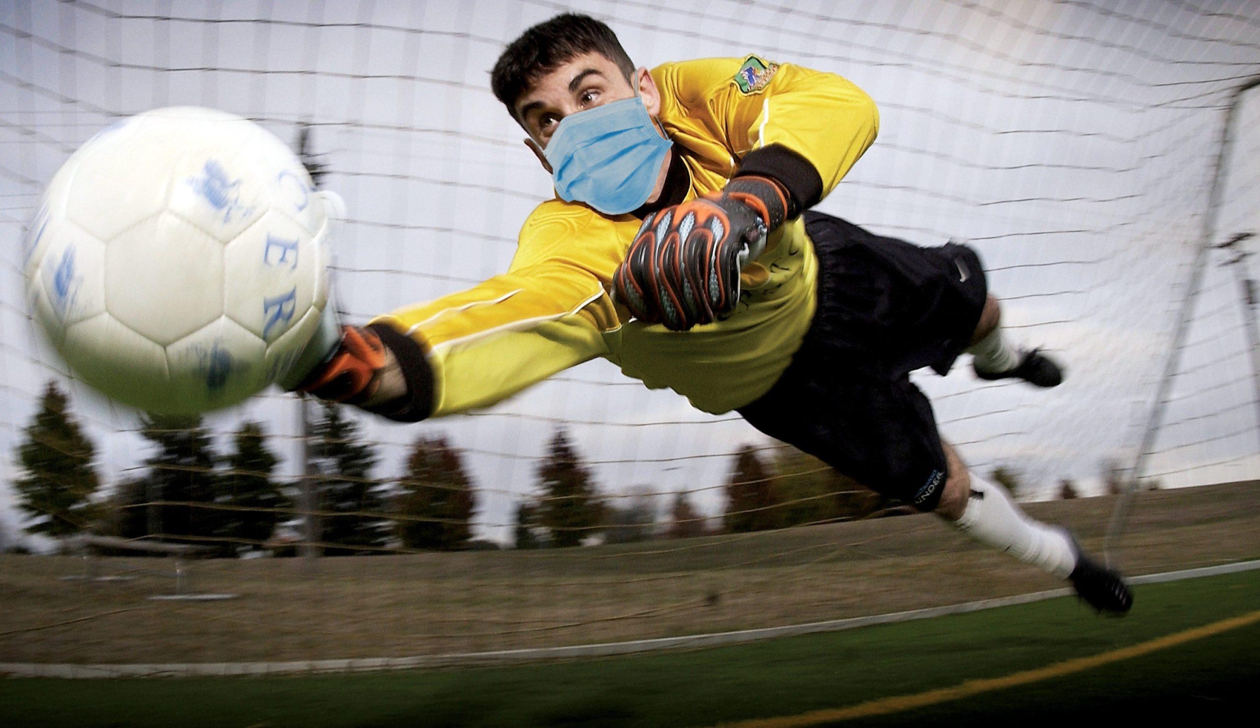 fútbol corona virus